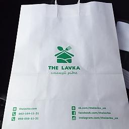 Встречайте фирменный пакет от TheLavka.